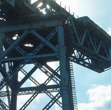Detail of the upper structure of the Titan Crane.  -  9th April 2002