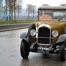 The 2012 Monte Carlo Classic Rally began in the shadow of the famous A-listed Titan Crane thanks to a partnership between The 2012 Monte Start Committee and West Dunbartonshire Council. - 29th January 2012