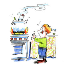 Here's one for you... I ask my kids this one from time to time. If you were stuck on a desert island with only one thing to eat all the time, what would it be? Mine was my mum's ham bone soup ... crazy the things you miss!!!!