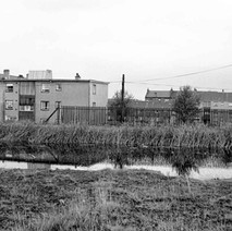 Looking over the canal at Dalmuir  -  Photo by William Duncan
