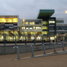 Clydebank College down beside the River Clyde. - 27th January 2011