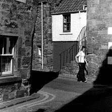 One of the quaint streets in St Andrews. - 16th July 1978