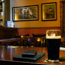 Park Bar, Dalmuir. I'm out for my mid-week pint. -  18th February 2015