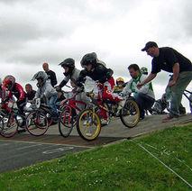 Start of Race. Titans BMX Racing Team, Drumry - 21st June 2009