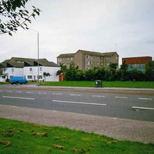 Glasgow Road looking towards North Elgin Street. Clydebank 1987. - Photos taken by Sarah from California, USA