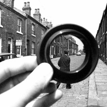 Wakefield through a lens hood... - Yorkshire 12th July 1979