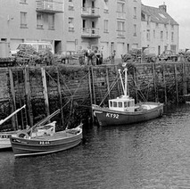 The fishing boats in St Andrews harbour. - Sunday 23rd July 1978