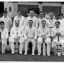 Clydebank Cricket Club   -  SEASON 1967 Back row:- I. Webster, S. Martin, J. Ross, C. Pooley, O. Wilton, B. Martin. Front Row:- W. King, R. Mullen, D. King (Capt), W. Martin, G. Adams (Vice Capt). Photo supplied by Billy McKain and Davie King