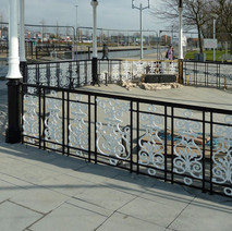 The bandstand is being painted, almost completed now. - 2nd march 2011