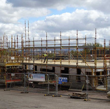Social housing is progressing on the site of the former La Scala Cinema.  -  10th April 2017