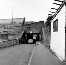 The tunnel under the canal at Boquhanran Road, Dalmuir. - Photo by William Duncan