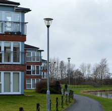 Flats beside the Forth & Clyde Canal. - 26th January 2013
