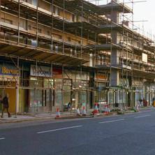Kilbowie Road under restoration.  -  1