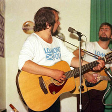 Folk night at the Douglas hotel with Lomond Folk. - 13th August 1977