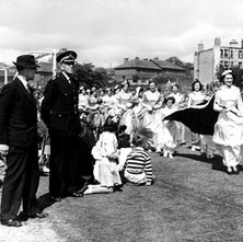 The Singer Queen at the Gala Day in Clydebank. The Singer Gala Day was a big event back in the day. - Photograph supplied by Gilbert Howatson - date unknown