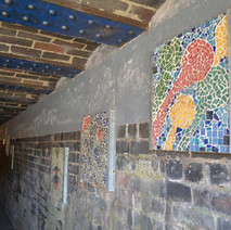 Mosaic display at the Forth & Clyde underpass in Dalmuir. - 3rd May 2012