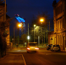 Looking down Hume Street. - 29th January 2011