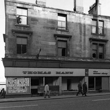 Tenements being demolished on Glasgow Road. - Saturday 3rd March 1979