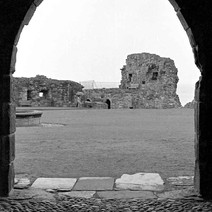 Looking through an arched doorway in St andrews Castle. - Sunday 23rd July 1978