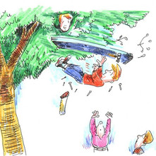 Aaah Clydebank youth, so inquisitive and full of adventure... lets build a tree fort, what could go wrong?