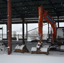 Demolition of the Thor Ceramic factory. - 28th February 2018