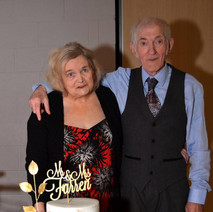 My sister in law and my brother in law Mary and John celebrating fifty years married. They asked for contributions to the Beatson Cancer Charity instead of presents and raised £800.  -  5th January 2019