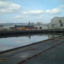The Fitting Out Basin.  -  9th April 2002
