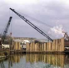 Coffer Dam 1964 - from the collection of Jack Carson