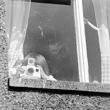 This is Jennifer taking a picture of me taking a picture of her. - April 1981