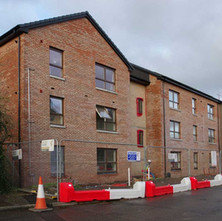 New Social Housing being built on North Douglas Street.  -  9th January 2020