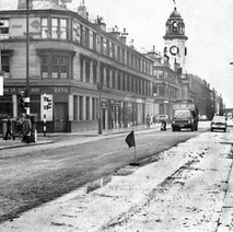 Tarmac on Glasgow Road/Dumbarton Road - from the collection of Jack Carson