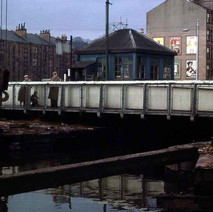 Dalmuir canal bridge 1964 - from the collection of Jack Carson