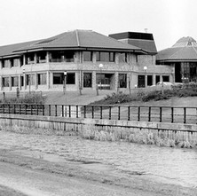 The Radio Clyde building, one of the first businesses to set up in the Business Park. - 10th February 1985 Kilbowie Road, Clydebank