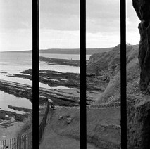 Looking through the bars in St Andrews Castle. - Sunday 23rd July 1978