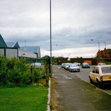 Looking down South Elgin Street. - Clydebank 1987. Photos taken by Sarah from California, USA