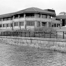 Radio Clyde moved from Glasgow to this custom built building. - 10th February 1985 Kilbowie Road, Clydebank