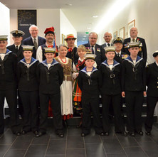 The Remembrance Service for The 75th Anniversary of the Clydebank Blitz at the Town Hall. - 12th March 2016