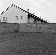 Whitecrook  -  I will have to go back for another look to see if the graffiti has changed... - Saturday 3rd March 1979