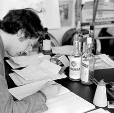 David did the sampling by nose as he doesn't drink spirit which is just as well, surrounded by it all day! - 2nd July 1979