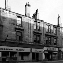 Another view of the tenements that are being demolished on Glasgow Road. - Saturday 3rd March 1979