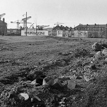 The demolition of the tenements changed the landscape of Clydebank. - Saturday 3rd March 1979 Glasgow Road