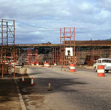 Building Crematorium Flyover 1967 - from the collection of Jack Carson