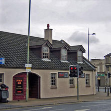 Chandlers Pub, on the corner of Kilbowie Road, on the site of the old Seven Seas pub. - 4th April 2009 - Clydebank