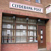 The old Clydebank Post premises on Dumbarton Road. - 15th June 2009