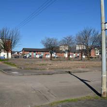 Council houses demolished beside Jellicoe Street - 18th April 2014