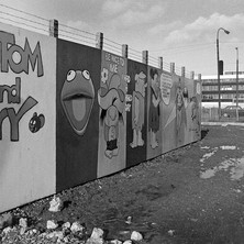 I wonder if any of them became artists or graphic designers when they grew up? - Saturday 3rd March 1979 Glasgow Road
