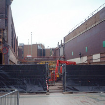 Renovation work at the Clyde Shopping Centre.  -  24th March 2002