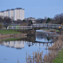 The Linnvale Bridge between Whitecrook and Linnvale. - 2nd February 2013