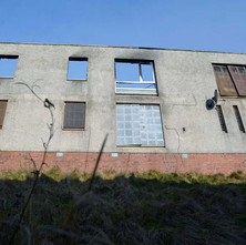 Salisbury Place in Mountblow, a lot of empty flats have been set on fire.  -  24th January 2013