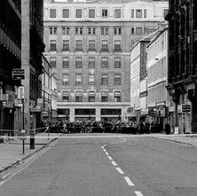 We had a lot of bomb scares in the late 70s and early 80s. You can see the big Lewis's store at the end of the street on Argyle Street. - 2nd July 1979